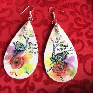 Adorable Hand painted Earrings